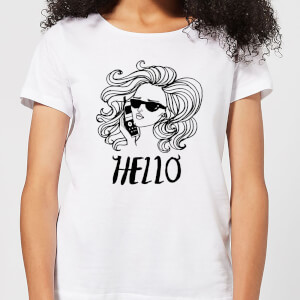 Hello Women's T-Shirt - White