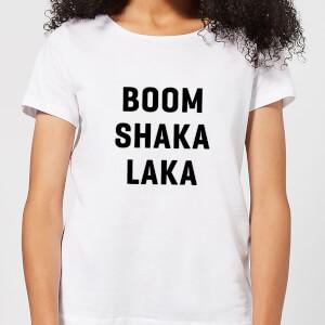 Boom Shaka Laka Women's T-Shirt - White