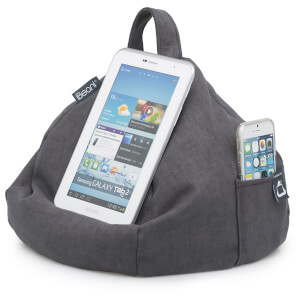 iBeani iPad, Tablet and eReader Bean Bag Stand - Slate Grey
