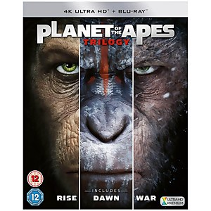 Planet Of The Apes Trilogy Boxset - 4K Ultra HD