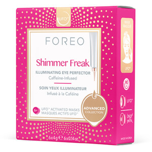 FOREO UFO Activated Masks - Shimmer Freak (6 Pack)