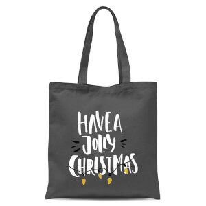 Have A Jolly Christmas Tote Bag - Grey