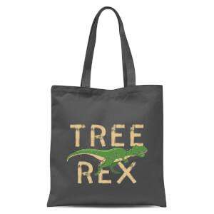 Tree Rex Tote Bag - Grey
