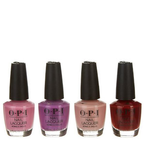 OPI Peru Mini 4 Pack Nail Varnish