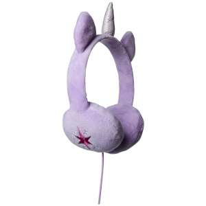 My Little Pony Plush Wired Headhones - Twighlight Sparkle