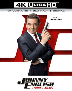 Johnny English Strikes Again - 4K Ultra HD (Includes Digital Copy)