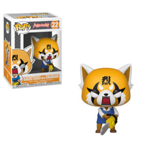 Sanrio Aggretsuko Retsuko with Chainsaw Pop! Vinyl Figure
