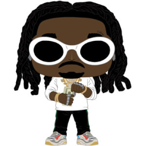Figurine Pop! Rocks - Migos - Takeoff