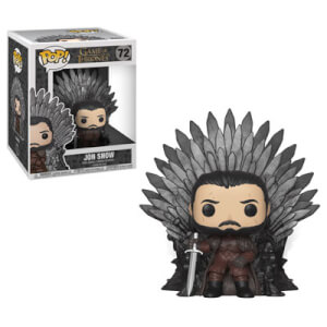 Game of Thrones Jon on Iron Throne Funko Pop! Vinyl Deluxe