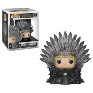 Game of Thrones - Cersei Lannister auf den Iron Thron LTF Pop! Vinyl Deluxe Figur