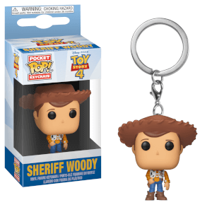 Toy Story 4 Woody Funko Pop! Keychain