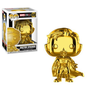 Marvel MS 10 Doctor Strange Gold Chrome Funko Pop! Vinyl