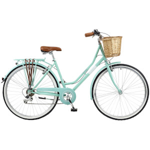 Viking Belgravia Ladies Traditional 6sp Bike - Turquoise 700C Wheel