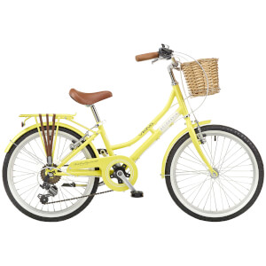 "Viking Belgravia Girls Traditional Heritage 6sp Bike - Lemon 20"" Wheel"