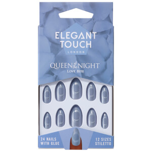 Накладные ногти Elegant Touch Queen of the Night Nails - Love Bite