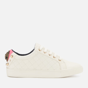 Kurt Geiger London Women's Ludo Leather Low Top Trainers - Pink Comb