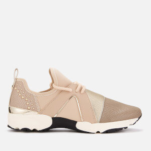 Carvela Women's Lamar 2 Runner Style Trainers - Nude