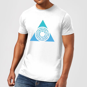 T-Shirt Homme Symbole de Azorius - Magic The Gathering - Blanc