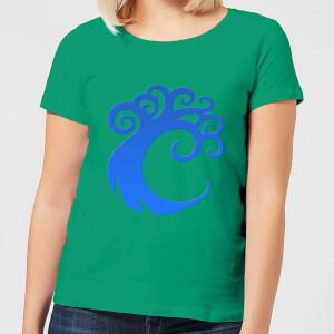 Magic The Gathering Simic Symbol Women's T-Shirt - Kelly Green