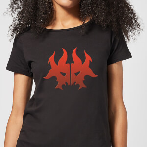 T-Shirt Femme Symbole de Rakdos - Magic The Gathering - Noir