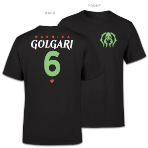 T-Shirt Homme Golgari Sports - Magic The Gathering - Noir