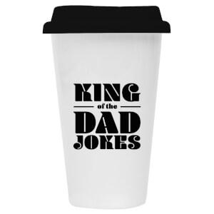 King Of The Dad Jokes Ceramic Travel Mug