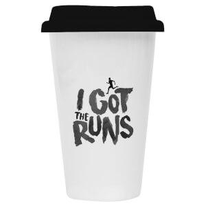 I Got The Runs Ceramic Travel Mug