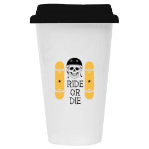 Ride or Die Ceramic Travel Mug