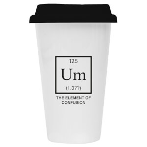 The Element Of Confusion Ceramic Travel Mug