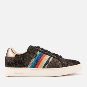 PS Paul Smith Women's Lapin Leather Cupsole Trainers - Bronze