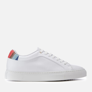 Paul Smith Women's Basso Leather Cupsole Trainers - White