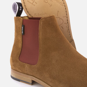 PS Paul Smith Men's Gerald Suede Chelsea Boots - Tan: Image 4
