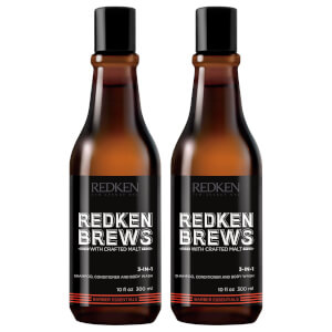 Redken Brews duo shampoo 3 in 1 per uomo