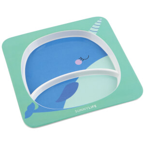 Sunnylife Narwhal Plate