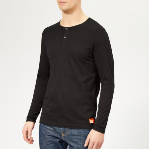 Superdry Men's Superdry Laundry Grandad Top - Laundry Black