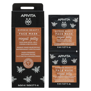APIVITA Express Firming Face Mask – Royal Jelly 2 x 8 ml