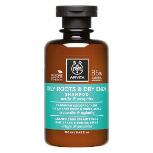 APIVITA Holistic Hair Care Oily Roots & Dry Ends Shampoo - Nettle & Propolis 250 ml