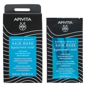 APIVITA Express Moisturizing Hair Mask - Hyaluronic Acid 20 ml