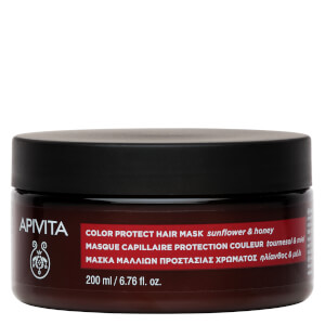 APIVITA Holistic Hair Care Color Protection Hair Mask - Sunflower & Honey 200 ml