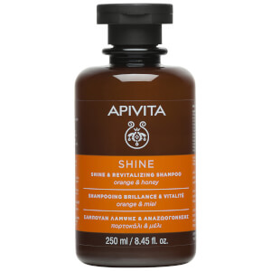 APIVITA Holistic Hair Care Shine & Revitalising Shampoo - Orange & Honey 250ml