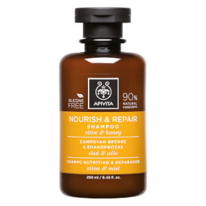 APIVITA Holistic Hair Care Nourish & Repair Shampoo - Olive & Honey 250 ml