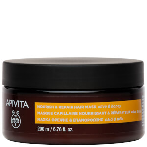 APIVITA Holistic Hair Care Nourish & Repair Hair Mask - Olive & Honey 200ml