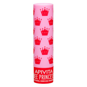 APIVITA Lip Care Bee Princess Bio-Eco -huulivoide 4,4g, Apricot & Honey