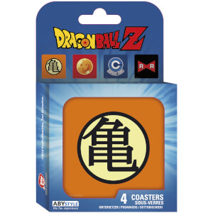 Dragon Ball Set of 4 Coasters (Symbols)
