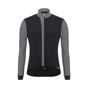 Santini Origine Long Sleeve Jersey - Black/White