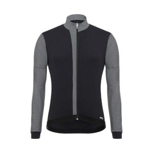 Santini Origine Long Sleeve Jersey - Black/White