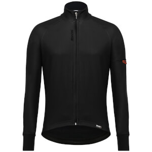 Santini Beta Winter Windstopper Jacket - Black