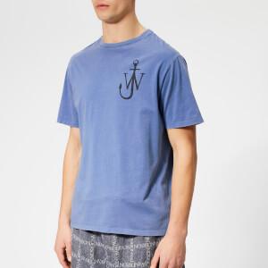 JW Anderson Men's JWA Anchor Print T-Shirt - Indigo