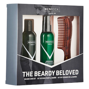 Men Rock The Beardy Beloved Beard Care Starter Kit - Sicilian Lime (Worth £30.95): Image 3