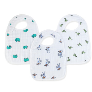 aden + anais Classic Snap Bibs Jungle Jam